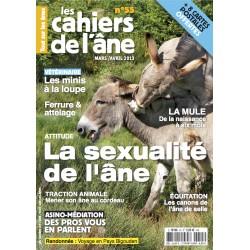 """55 - Comportement """"amoureux"""" de l'âne - Ferrure et Attelage"""