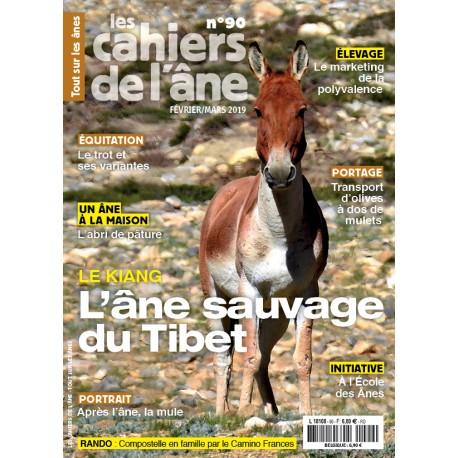 90 - Âne sauvage du Tibet - Abri de pâture