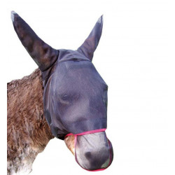 Bonnet anti-insectes avec oreilles et naseaux protégés