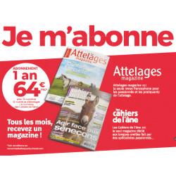 Duo :  Cahiers de l'Âne + Attelages