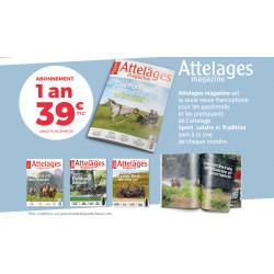 Abonnement 1 ans Attelages Magazine
